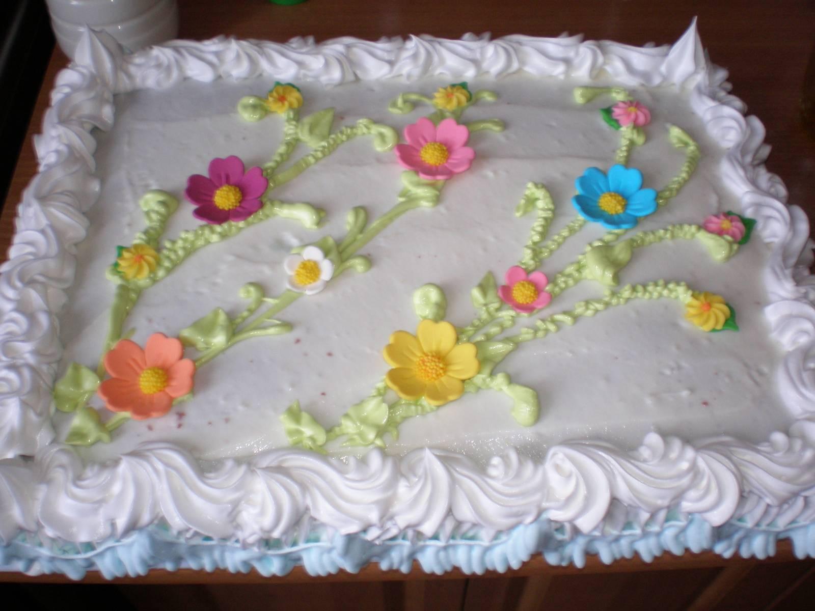 Украшения из крема на детский торт фото